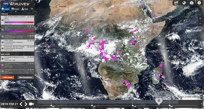 Blog - Global Imagery Browse Services - GIBS - Earthdata Wiki