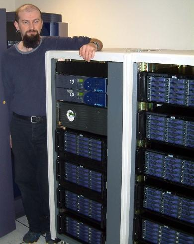 40TB of OnEarth imagery storage in 2003